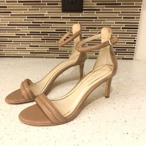 Kenneth Cole Nude patent leather pump sandals
